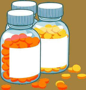 כדורים בבקבוקונים