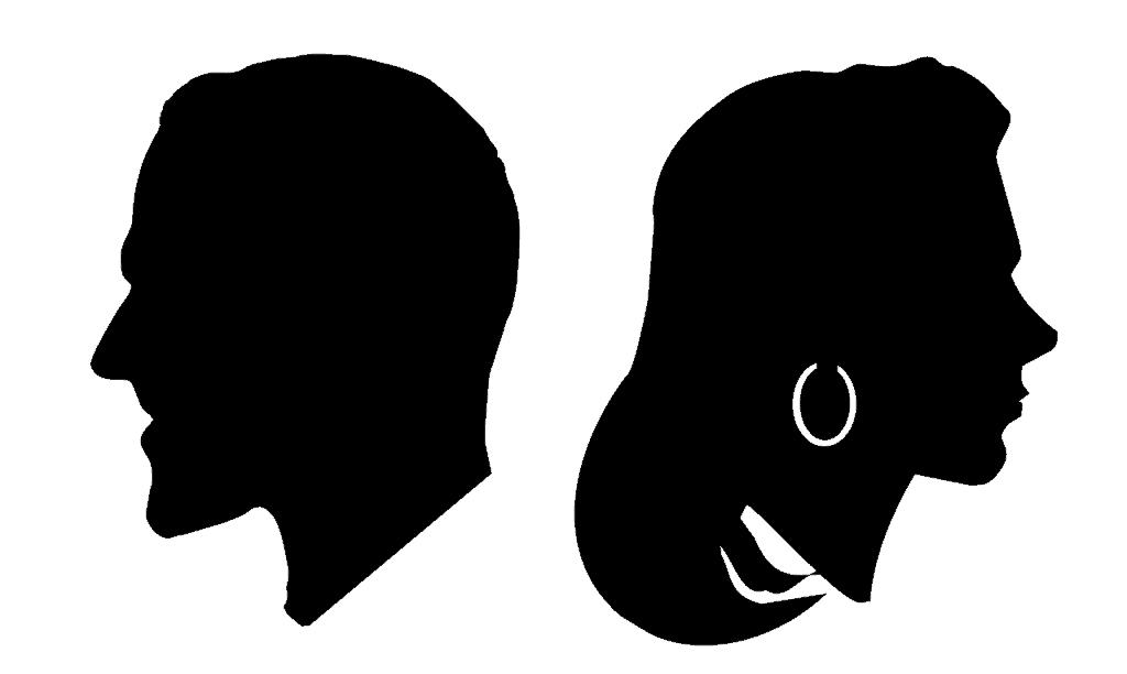 גבר ואישה בתהליך